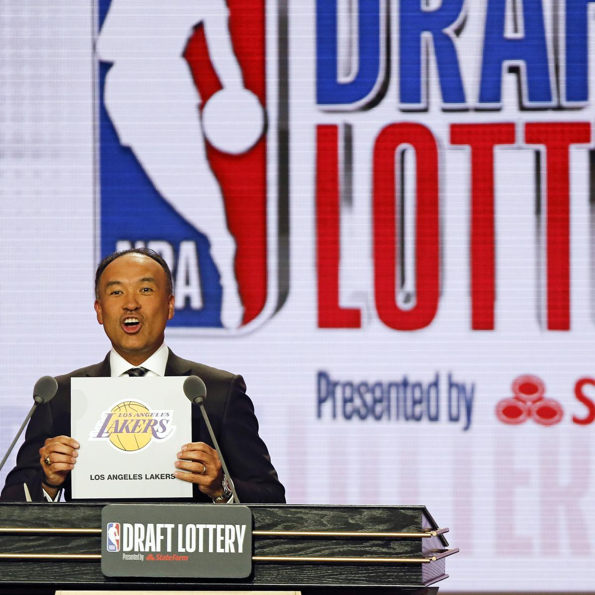 Laporan: NBA Diharapkan Menunda Lotre Draft 2020, Gabungkan Di Tengah COVID-19 | Laporan Bleacher