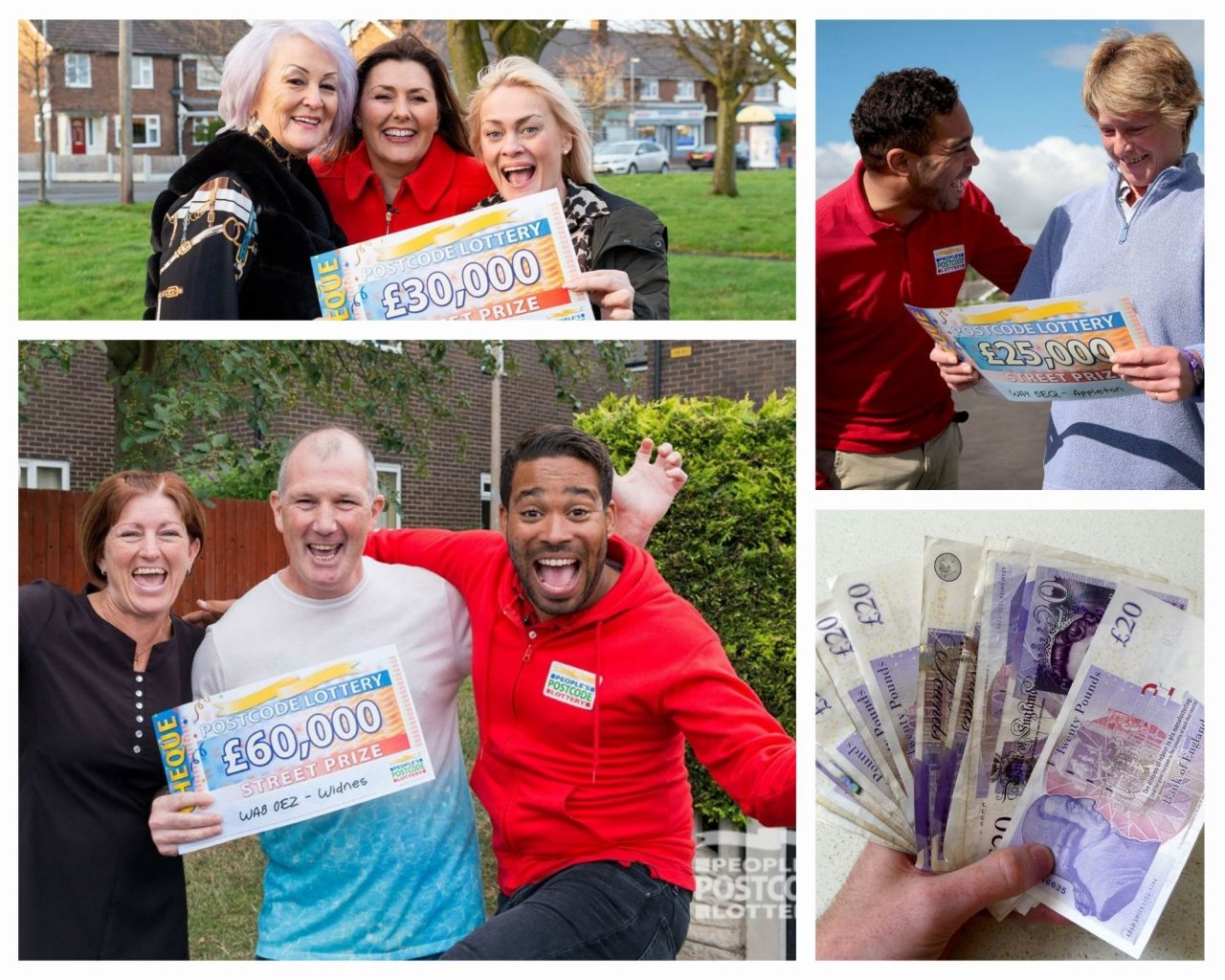 Pemenang People's Postcode Lottery terbesar di Warrington