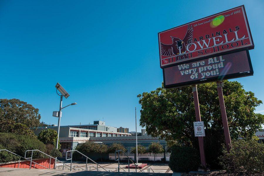 Sekolah Menengah Lowell elit S.F. akan secara permanen beralih ke penerimaan lotere di bawah proposal jalur cepat