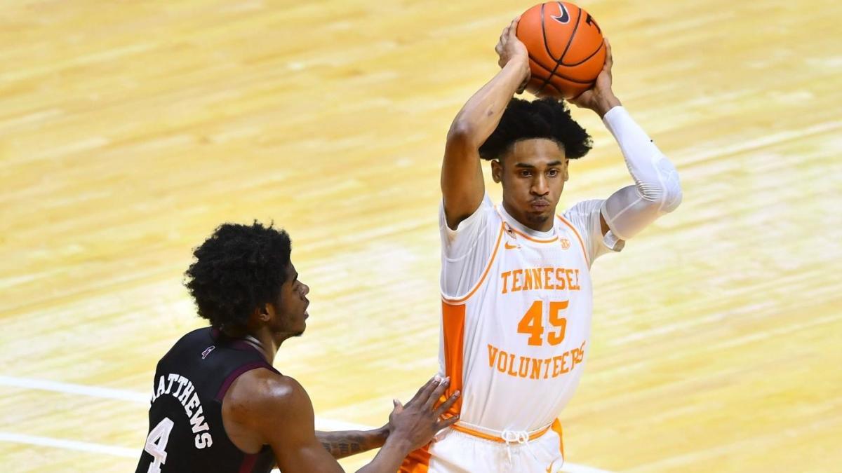 Draft NBA 2021: Sayap Tennessee Keon Johnson, pilihan lotere potensial, diumumkan setelah musim mahasiswa baru