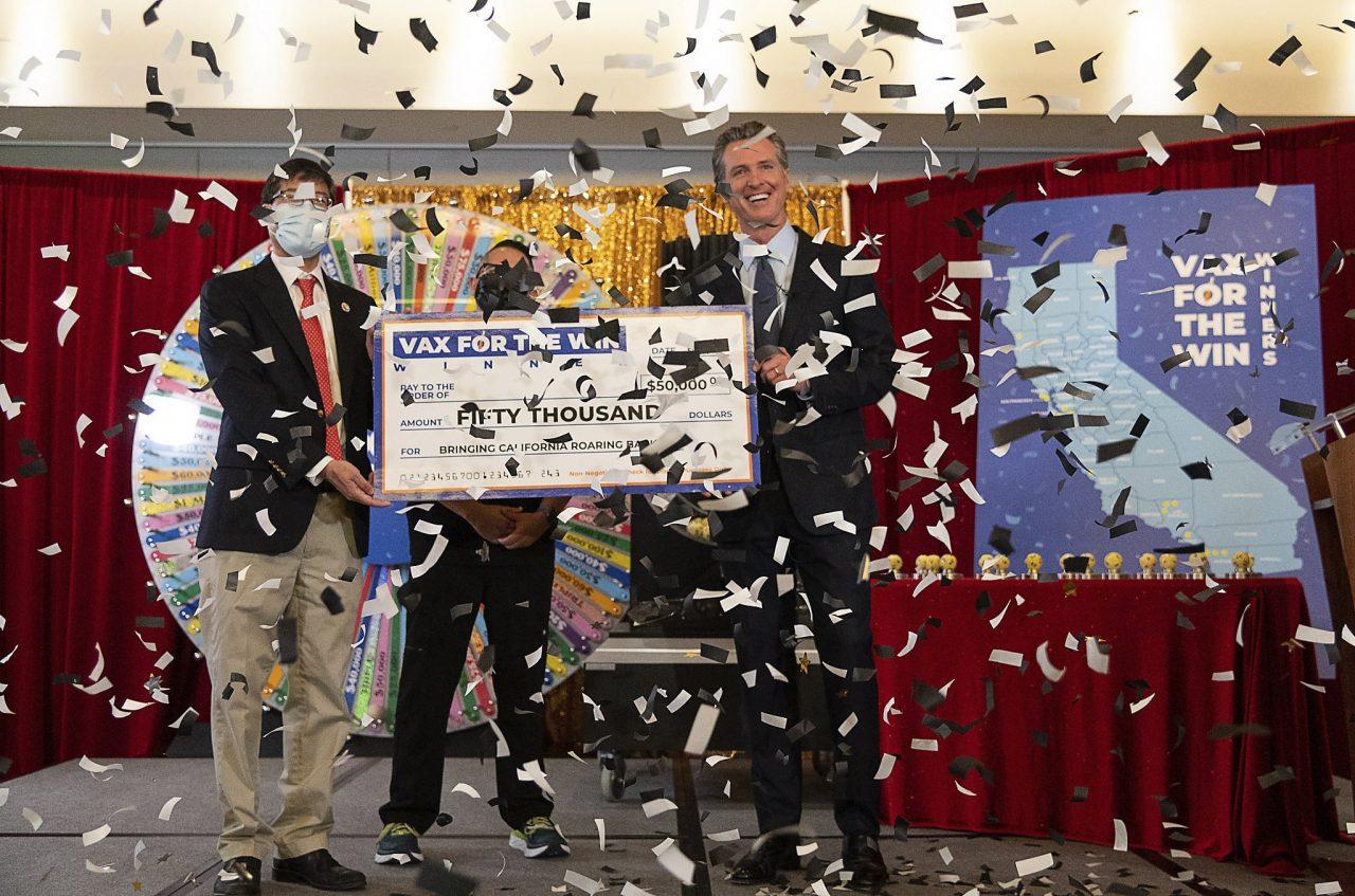 Pemenang lotre vaksin California menganggap panggilan dari negara bagian 'adalah lelucon'