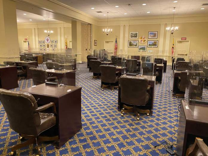 Silahkan duduk! Lotere Rumah Memilih Anggota 'Chamber Annex' untuk Sesi 2021 yang Jauh Secara Sosial - Maryland Matters
