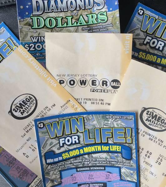 Tiket Lotere $ 50,00 Dijual di Lokal 7-11