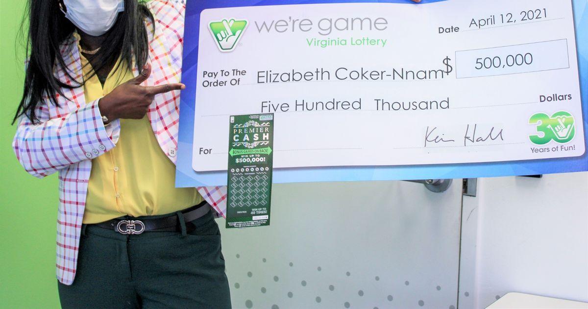 Wanita berhadiah lotere tiket sebagai hadiah ulang tahun yang terlambat meraup jackpot £ 360rb